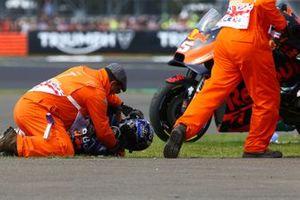 Miguel Oliveira, Red Bull KTM Tech 3 caída