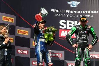 Isaac Vinales, Lucas Mahias, Kawasaki Puccetti Racing, Ayrton Badovini, Pedercini Racing