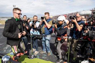 Jonathan Rea, Kawasaki Racing Team celebrates his 5th world title