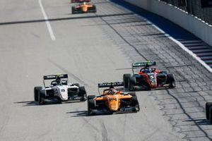 Алессио Деледда, Campos Racing, Фабио Шерер, Sauber Junior Team by Charouz, и Симо Лааксонен, MP Motorsport