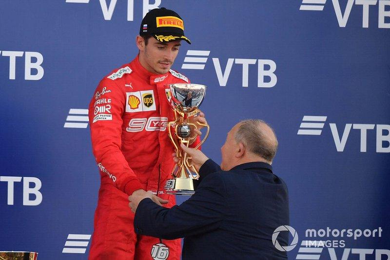 Charles Leclerc, Ferrari (9 podios)