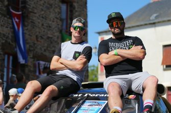 Гонщики Monster Energy RX Cartel Андреас Баккеруд и Лиам Доран