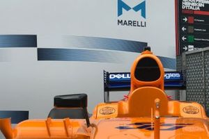 McLaren esposta da Marelli a Monza