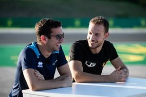 Nicholas Latifi, Dams and Luca Ghiotto, UNI Virtuosi Racing