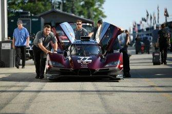 #77 Mazda Team Joest Mazda DPi, DPi: Oliver Jarvis, Tristan Nunez