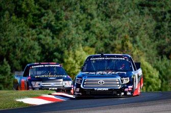 Harrison Burton, Kyle Busch Motorsports, Toyota Tundra Safelite AutoGlass, Ben Rhodes, ThorSport Racing, Ford F-150 Havoline