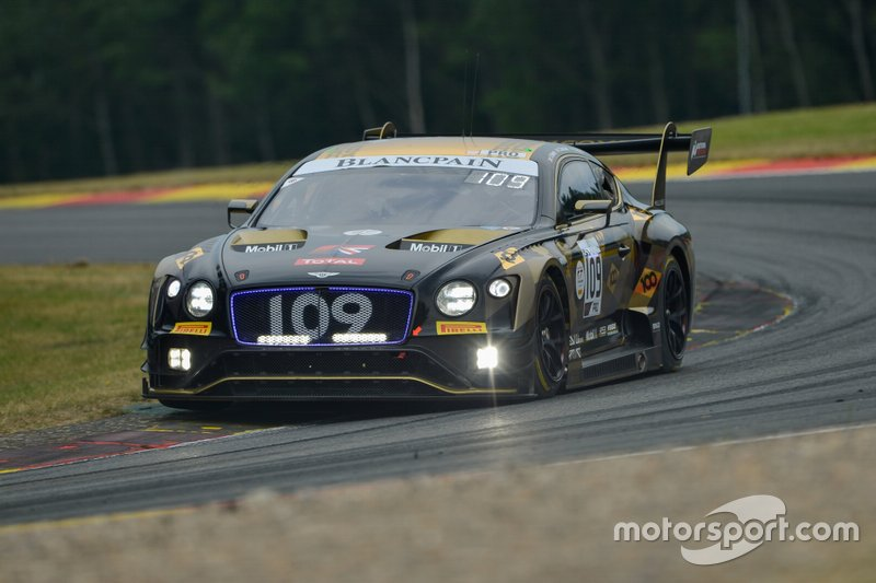 #109 M-Sport Team Bentley Bentley Continental GT3: Rodrigo Baptista, Seb Morris, Callum Macleod