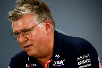 Otmar Szafnauer, Team Principal and CEO, Racing Point, in the Team Principals Press Conference