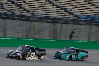 Mason Massey IV, Reaume Brothers Racing, Chevrolet Silverado Anderson Power Services Johnny Sauter, ThorSport Racing, Ford F-150 Tenda Products