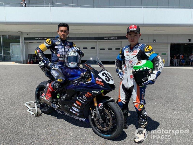 M Faerozi, Maiku Watanuki, Yamaha Indonesia & Ito Racing