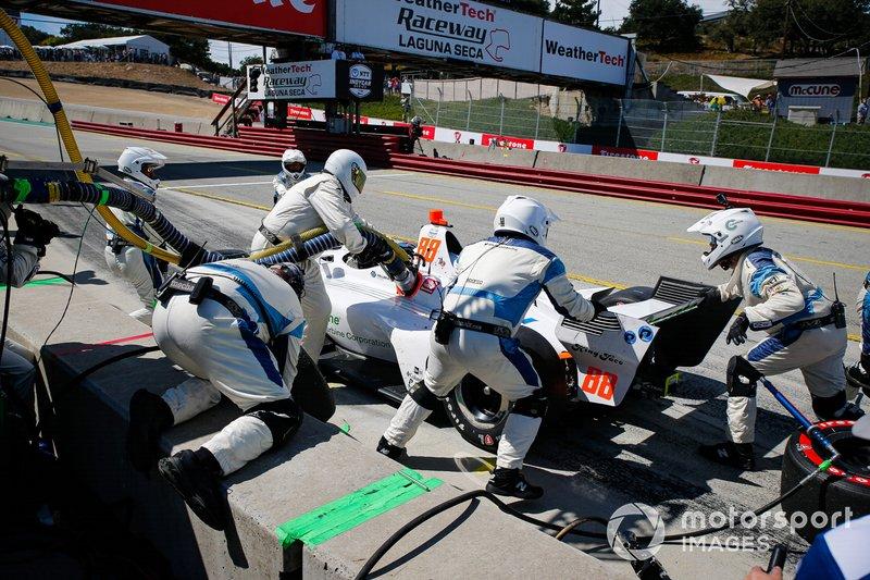 Пит-стоп: Колтон Херта, Harding Steinbrenner Racing Honda