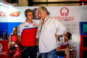 Paolo Campinoti and Francesco Guidotti, Pramac Racing
