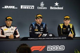 Nicholas Latifi, Dams Nyck De Vries, ART Grand Prix and Jack Aitken, Campos Racing