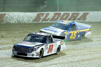 Kyle Strickler, DGR-Crosley, Toyota Tundra DGR-Crosley Driver Development and Ross Chastain, Niece Motorsports, Chevrolet Silverado Niece/Jack Hewitt Tribute