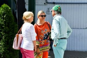 Corinna Schumacher in the paddock