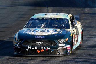 Kevin Harvick, Stewart-Haas Racing, Ford Mustang Busch Beer / National Forest Foundation celebrates his win