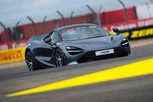 Pirelli Hot Lap action