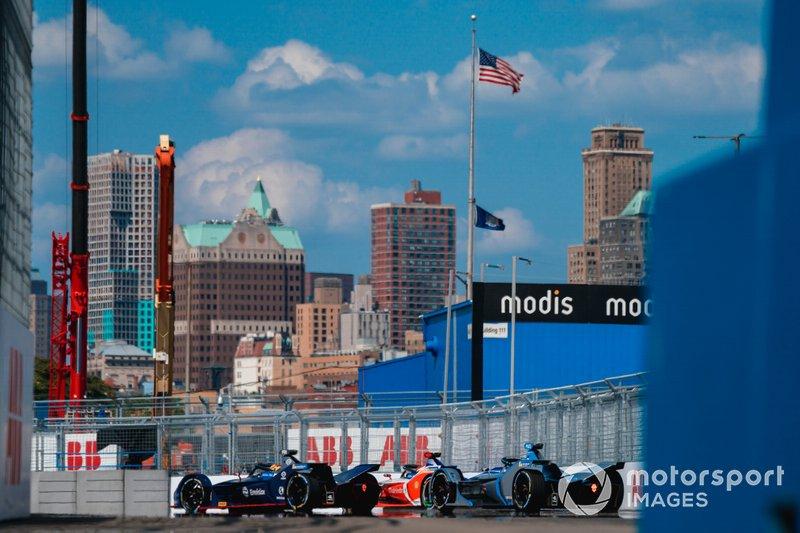 Robin Frijns, Envision Virgin Racing, Audi e-tron FE05 Pascal Wehrlein, Mahindra Racing, M5 Electro, Felipe Massa, Venturi Formula E, Venturi VFE05