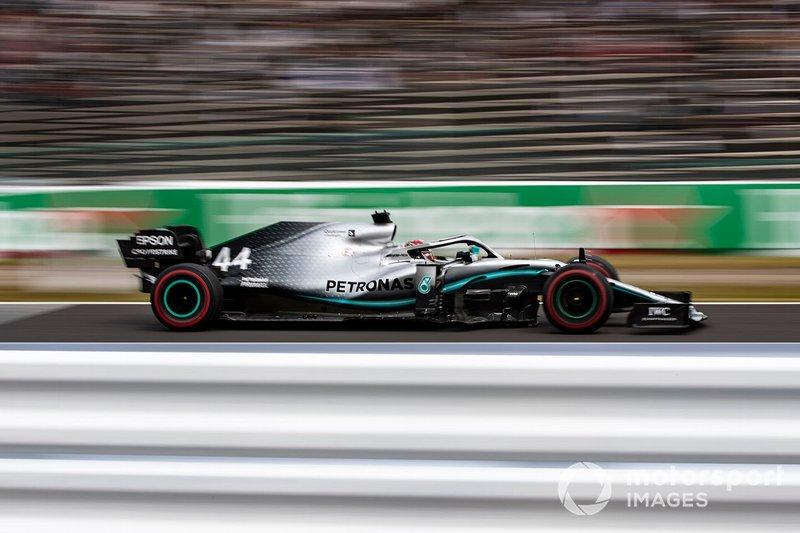 2º Lewis Hamilton, Mercedes AMG F1 W10 (1:27.885)