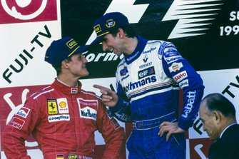 Damon Hill, WIlliams, Michael Schumacher, Ferrari