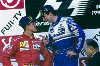 1. Damon Hill, WIlliams, 2. Michael Schumacher, Ferrari