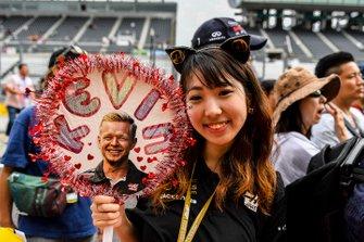Fan of Kevin Magnussen, Haas F1