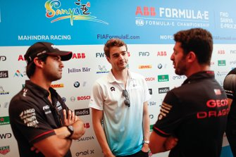 Felipe Nasr, Dragon Racing, Tom Dillmann, NIO Formula E Team, Jose Maria Lopez, Dragon Racing