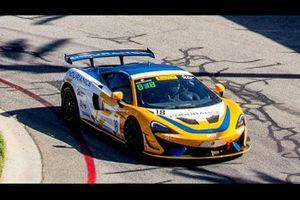 Practice 1 Leader Jarett Andretti, Andretti Autosport, McLaren 570S GT4