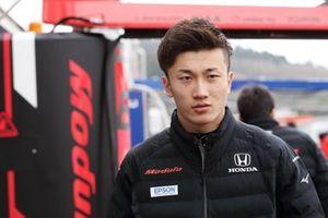 #64 Nakajima Racing Honda NSX-GT: Tadasuke Makino