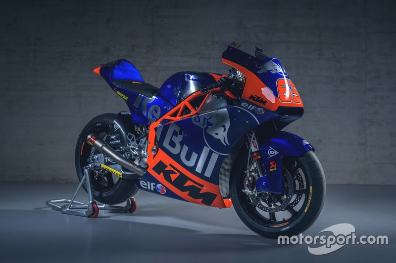 La moto di Philipp Öttl, Red Bull KTM Tech3