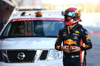 Max Verstappen, Red Bull Racing back to the pitlane