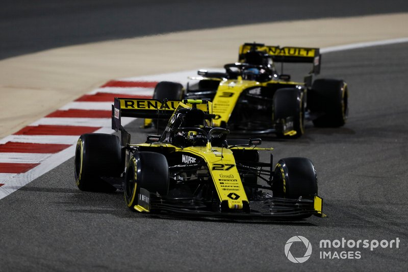 Nico Hulkenberg, Renault R.S. 19, Daniel Ricciardo, Renault R.S.19