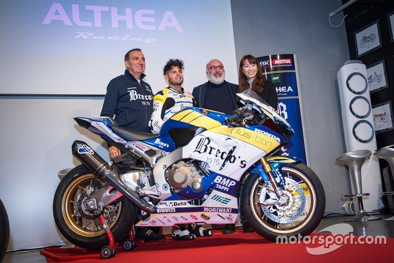 Alessandro Del Bianco, Althea Racing, Genesio Bevilacqua, Althea Racing, gerente del equipo