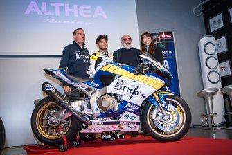 Alessandro Del Bianco, Althea Racing, Genesio Bevilacqua, Althea Racing, takım menajeri