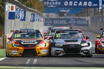 Tom Coronel, Comtoyou DHL Team CUPRA Racing CUPRA TCR, Niels Langeveld, Comtoyou Team Audi Sport Audi RS 3 LMS