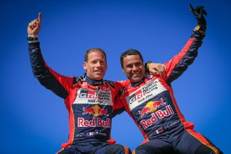 Winners SxS #200 CAN-AM: Nasser Al-Attiyah, Matthieu Baumel