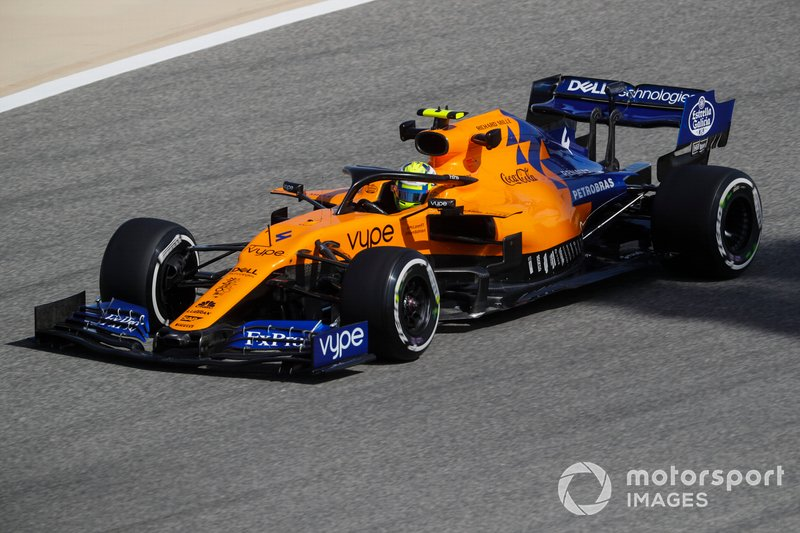 7. Ландо Норріс, McLaren — 8