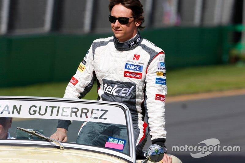 #18 Esteban Gutierrez, Sauber F1