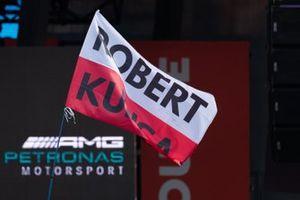 Bandera de Robert Kubica