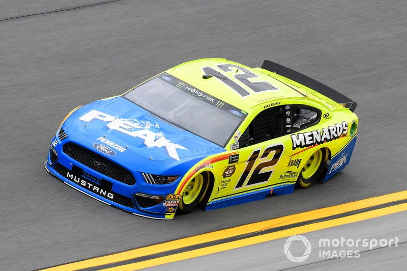 14. Ryan Blaney, Team Penske, Ford Mustang Menards/Peak
