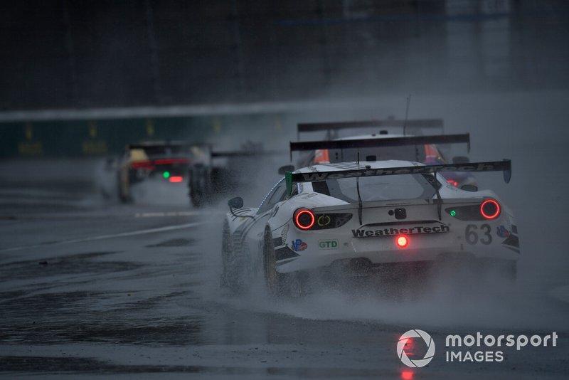 Купер Макнил, Тони Виландер, Джефф Уэстфал, Доминик Фарнбахер, Scuderia Corsa, Ferrari 488 GT3 (№63)