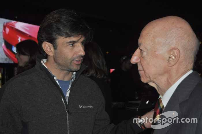 Christian Fittipaldi e Claudio Carsughi