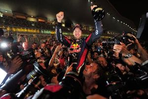 World Champion Sebastian Vettel, Red Bull Racing