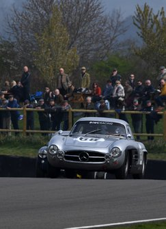 Tony Gaze Trophy, David Coulthard Mercedes Benz Gullwing