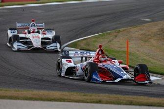 Matheus Leist, A.J. Foyt Enterprises Chevrolet, Will Power, Team Penske Chevrolet