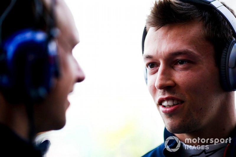 Данііл Квят, Toro Rosso