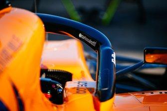 La voiture de Carlos Sainz Jr., McLaren