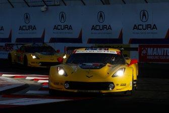 #3 Corvette Racing Corvette C7.R, GTLM: Jan Magnussen, Antonio Garcia, #4 Corvette Racing Corvette C7.R, GTLM: Oliver Gavin, Tommy Milner