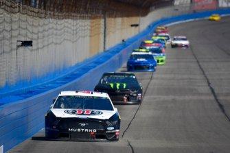 Kevin Harvick, Stewart-Haas Racing, Ford Mustang Jimmy John's, Kurt Busch, Chip Ganassi Racing, Chevrolet Camaro Monster Energy