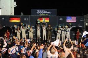 GTE-Pro-Podium: 1. #91 Porsche GT Team Porsche 911 RSR: Richard Lietz, Gianmaria Bruni, 2. #81 MW Team MTEK BMW M8 GTE: Martin Tomczyk, Nicky Catsburg, Alexander Sims, 3. #67 Ford Chip Ganassi Racing Ford GT: Andy Priaulx, Harry Tincknell